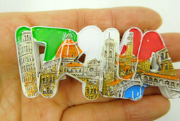 Italy 3D Realistic Resin Stereo Fridges Magnets Cute Flexible Fridge Magnets Gift Toys New Designed