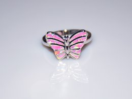 Wholesale & Retail Fashion Fine White Fire Opal Ring 925 Silver Plated Jewelry For Women EMT1517011