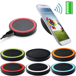 10pcs Qi Wireless Charger Cell phone Mini Charge Pad For Qi-abled device Samsung nokia htc LG cellphone with retail package Free Shipping