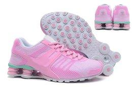 Air en cuir libre en Ligne-Livraison gratuite chaussures shox pour les femmes, de bonne qualité de la mode en cuir respirant shox femmes chaussures de travail en plein air taille us5.5-us8.5