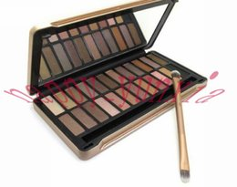 Factory Direct DHL Free Shipping New Makeup Eyes Nude Number 4 Palette 24 Colors Eyeshadow Palette!