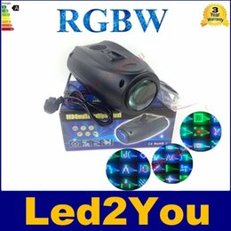 Wholesale Amazing Auto Sound Active LEDs RGBW Light Disco light Club Party Show Hundreds of Patterns Dj Bar Wedding Stage Party Lights