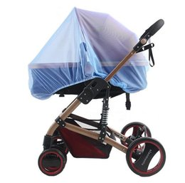 300*60cm Fashion Baby Mosquito Insect Shield Net Stroller Pushchair Safe Infants Protection Mesh Stroller Accessories Mosquito Net T7038