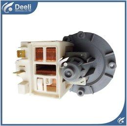 Wholesale 95 NEW for washing machine drain water pump WF C863 WF C963 WF R1053 WF R853 good working