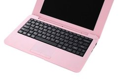 Wholesale buy bulk laptop netbook at low cost free DHL shipping inch size laptop gb ram and gb rom Window O S