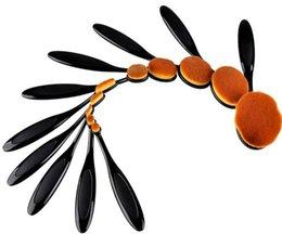 Wholesale Best Match MultiPurpose Nylon Makeup Brushes Kits Cosmetic Beauty Blusher Eyeshade Foundation Brushes Set IB13