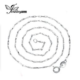 Wholesale Feelcolor New Ingot Chain Necklace Price Only Send With Our Pendant Pure Solid Sterling Silver Inch