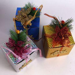 Box Noel Box Festival de boîte-cadeau haut Archives Cadeau Arbre de Noël Bottom Case Décoration à partir de boîte d'archives fournisseurs