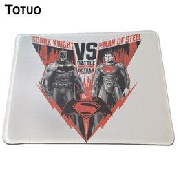 Wholesale Retailer Best choice Bulk sales Superman vs Batman desktop computer mouse pad