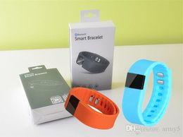 Promotion activité smartband tracker WATERPROOF FITBIT Smart Wristbands TW64 bluetooth activité de fitness tracker smartband bracelet bracelet pulsera regarder montres intelligentes