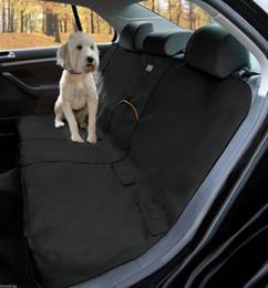 Скидка чехлы собаки сиденье Pet задние назад водонепроницаемый чехол для сиденья, собака автомобиля Protector внедорожник Auto Bench мат черный