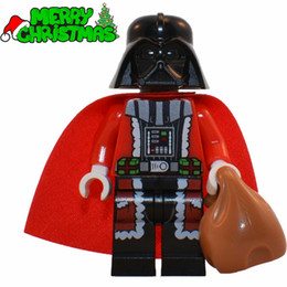 Wholesale XMAS Series Darth Vader Christmas Advent Calendar SUPER HEROES STAR WARS Minifigures Building Blocks Kids Xmas Toys Gift