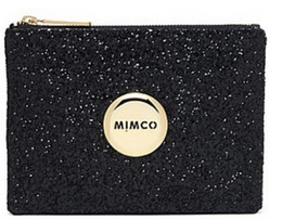 Wholesale BLACK SPARKS GOLD LOGO Mimco Medium Lovely pouch mimco lovers style top quality wallet