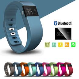 2016 activité smartband tracker Intelligent Band Wristband Fitness Activity Tracker Bluetooth 4.0 Smartband Bracelet Sport Podomètre Pour IOS Samsung Android tw64 peu coûteux activité smartband tracker