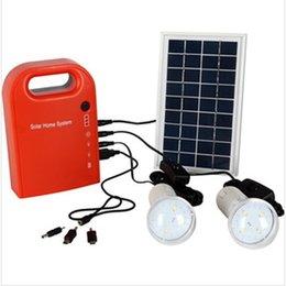 Wholesale Solar Portable Generator System - Small portable solar generator field emergency charging LED lighting system for household solar street lighting