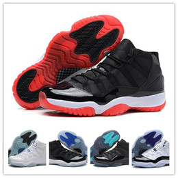 Wholesale Cheap Retro XI Bred Concord Gamma Legend Blue Basketball Shoes Athletics Sports Shoes Discount Sports Women Mens Basketball Shoes