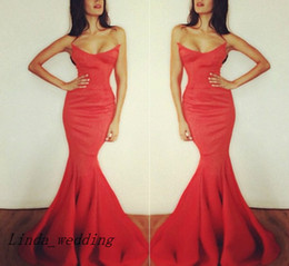 Free Shipping Sexy Michael Costello Red Carpet Fishtail Evening Dress New Arrival Pleating Formal Party Dress