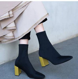vogue Free shipping New style fashion Womens High Heel Ankle Boot Booties Stiletto Platform Almond Toe Shoes