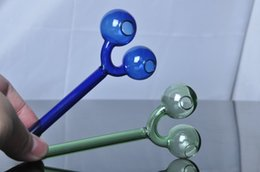 High Quality with Logo Pipes Hand Pipes Glass Smoking Colored Steamrollers Hand Pipes Smoking