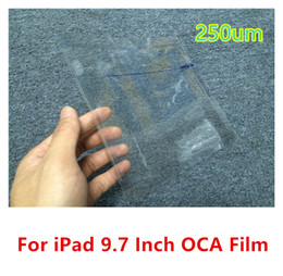 Wholesale Brand New inch um OCA Film Tape Adhesive Sticker Stick Screen Repair Parts For iPad Air