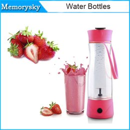 Wholesale TOP Piece ml Hand Portable Electric Fruit Juice Mixer Cup Electric Juice Mini Portable fruit vegetable Blender
