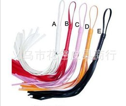 Wholesale New PC Lovely cm Leather Whip Flogger Tails Adult Sexy Hen Party Game Toy Hot Sale