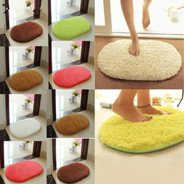 Wholesale New Absorbent Soft bathroom carpet Bath Mats Floor Rug Non Slip Dust Doormat Bathroom Suppiles home decor