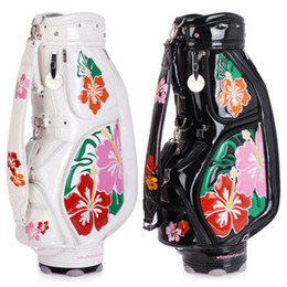 Wholesale women fashion golf bag limit sale golf ball bag stand pu club bag