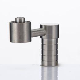 Wholesale Domeless Silika Titanium Nail With mm Female Joint Real Grade2 Titanium Refund If Fake We Also Offer Quartz And Ceramic Nail titan_v