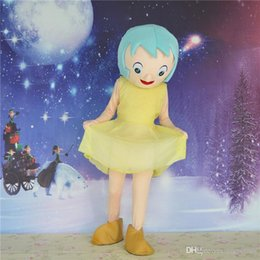 Wholesale New Happy woman Mascot Costume Animated cartoon Adult Size Fancy Dress Party Good Quality and Cheap Price Factory Direct