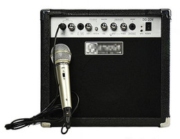 20w Acoustic Electric Guitar Amplifier guitar speaker with MIC Musical instruments accessories guitar parts