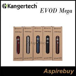 Kanger Evod Mega Kit 1900mah Evod Battery And Evod Mega Clearomizer New Dual Coil With 2.5ml Kangertech EVOD Mega Dual Coil Atomizer