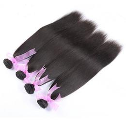 Wholesale 7A Brazilian Virgin Hair Yaki Straight Bundles Brazilian Hair Weave Bundles Brazilian Yaki Straight Human Hair Top Beauty Hair Store