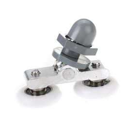 Wholesale 5pcs mm Diameter Double Wheeled Replacement Shower Door Roller Wheel TOOGOO R