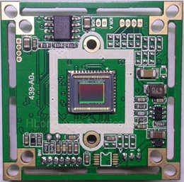 Wholesale Panasonic HD quot CCD image sensor HD8050 TVL CCTV camera module chip board OSD menu