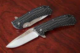 Wholesale Carbon Steel Folding Knives - Zero Tolerance ZT 5cr13mov Steel Blade Folding Knife Pocket Hunting camping Survival knives EDC Tool Drop shipping