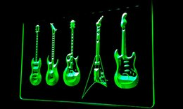 Wholesale LS181 g Guitar Hero Weapon Band Music Room Bar Neon Light Sign jpg