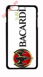 Wholesale Phone Case New For Bacardi logo cover plastic hard back case for iPhone s s c s Plus iPod touch Samsung s6 edge