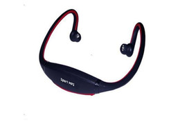 Sport Wireless Earphone New Style Control Noise Reduction TF Card FM Radio Headphone free shipping