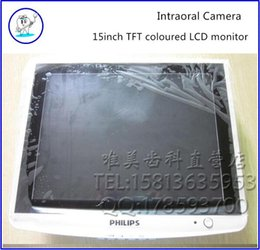 Wholesale 15inch TFT coloured LCD monitor Endoscope display pin standard VGA TV AV dental equipment fast shipping