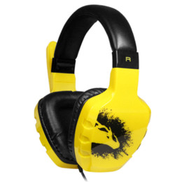 JIZZ GH901 pc headset with microphone earphones fashion laptop gaming belt Game Headphones High-Definition microphones headphone cable