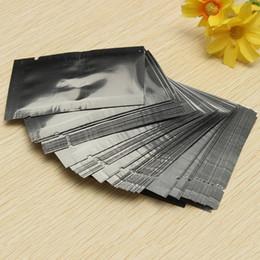 Hot Sale Brand New 100pcs 5*7CM Silver Aluminum Foil Mylar Bag Vacuum Bag Sealer Food Storage Package Excellent Quality