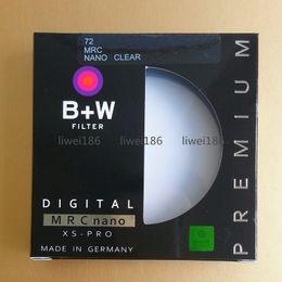 B+W UV 72mm MC-UV Filter XS-PRO MRC Nano Haze Black Almite Frame BW UV Protective Multi-Resistant Coating Optical glass For camera Lens