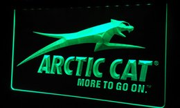 Wholesale LS166 g Arctic Cat Snowmobiles Neon Light Sign jpg