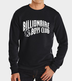 Wholesale fall winter billionaire boys club muscle men high quality brand fleece tracksuit funny hoodies fashion hip hop sweatshirt