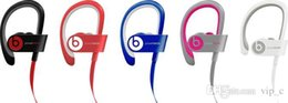 Wholesale powerbeats headphone wireless Bluetooth in ear red black blue rose gold space gray clone