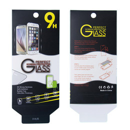 Wholesale Retail Packaging for Tempered Glass Screen Protector Universal Package in box for iPhone Samsung ZTE with Clean Tools