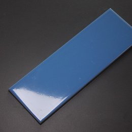 Wholesale 100x300 quot x12 quot Gloss SKY BLUE PURE Color Glazed Ceramic Wall tiles for kitchen and Bathplace balcony commercial space
