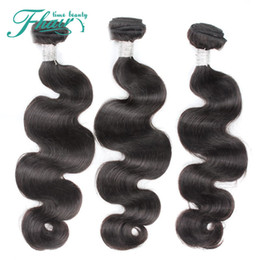 7A Brazilian Human Hair Body Wave 3 Bundles Lot Unprocessed Human Hair Products Brazilian Hair Weave Bundles Wholesale Free Shipping By DHL