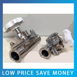 Wholesale GB Standard One way flow DN25 High Temperature Sanitary Stainless Steel Manual Threaded Diaphragm Valve
